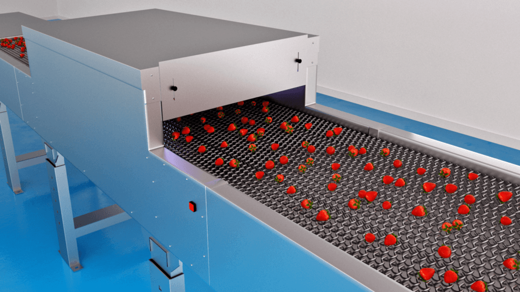 Food surface disinfection - SterilUV