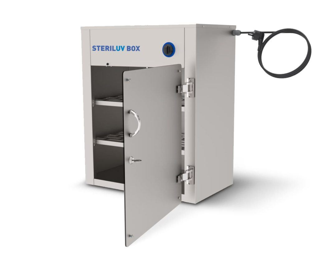 Steriluv Box - disinfecting all small objects